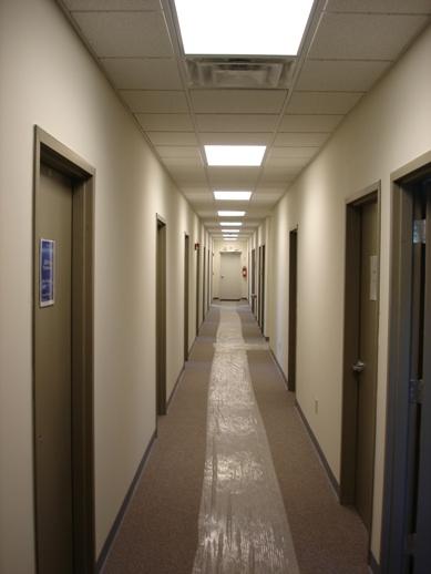 Construction 2 for Office hallway design
